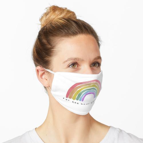 für die Ehre des Graustufen Maske