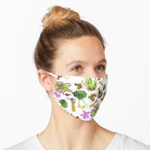 Fleischfressende Pflanzen Maske