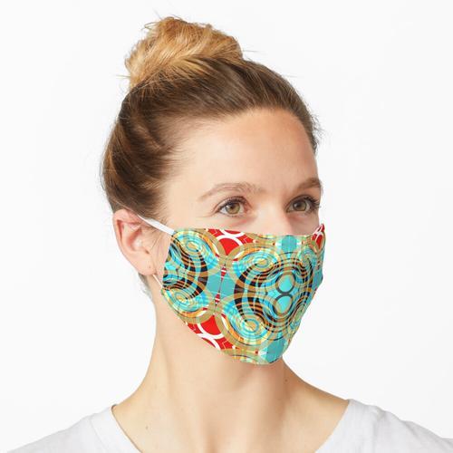 Goldringe Maske
