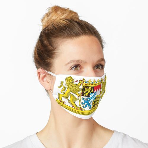 Wappen Bayerns (Bayern) Maske