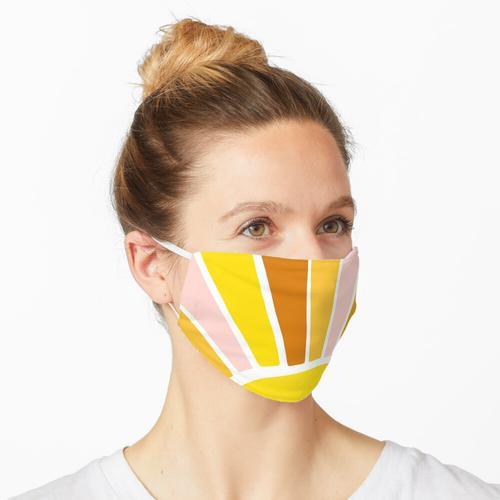 Sun Ray Burst Maske