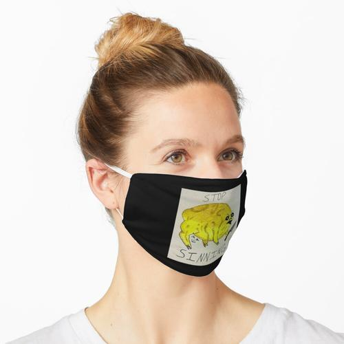Angry Frog Sin Stopper Maske