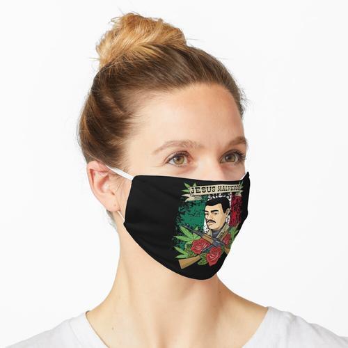 Hemd Jesuss Malverde für Frauen u. Mann-Geschenke Jesus Malverde Maske