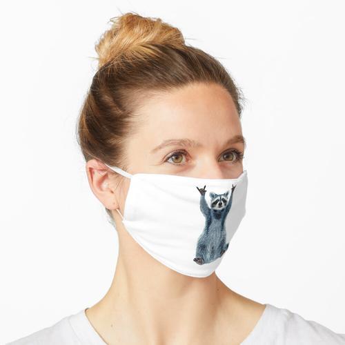 Waschbär-Hemd-Kühles Natur-Waschbär-T-Stück Netter Waschbär-Klassiker Maske