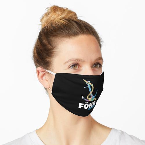 Föhr ankert Nordsee Maske