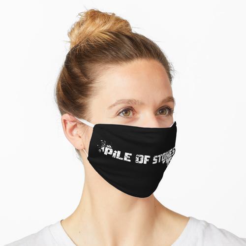 Haufen Steine - Aufgemotzt Maske