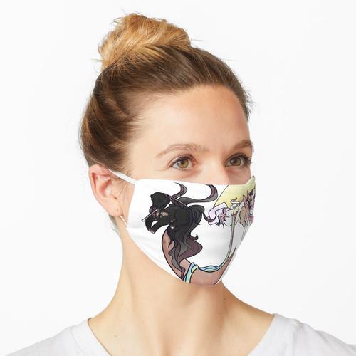 Besonderes Duo Maske