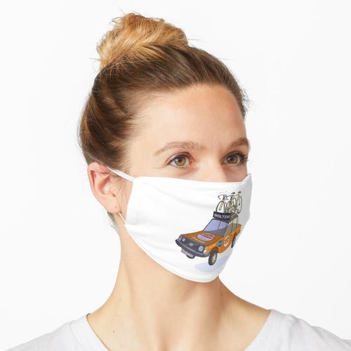 Molteni Radsport Teamwagen Maske