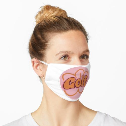 Golfblume Maske