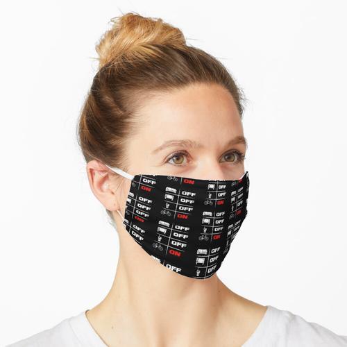 Fahrradfahren Fahrrad Geschenk für Radsportler Maske