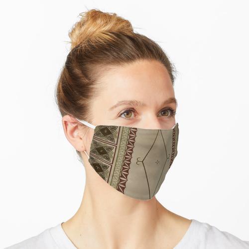Gefliester Siapo Maske