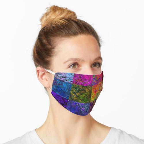 Warp-Designs geflickt Maske