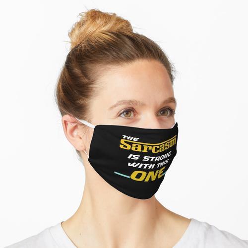 Der Sarkasmus ist stark mit diesem Maske