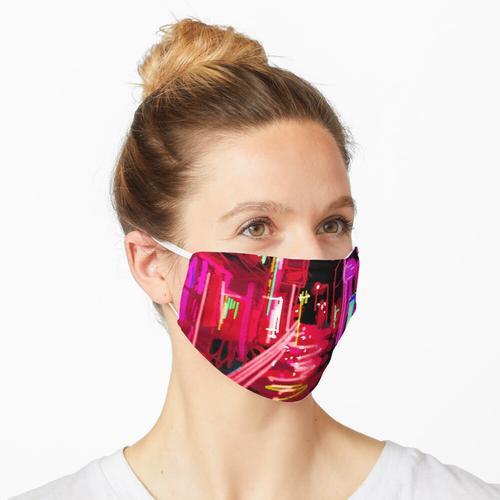 Rotlichtviertel Maske