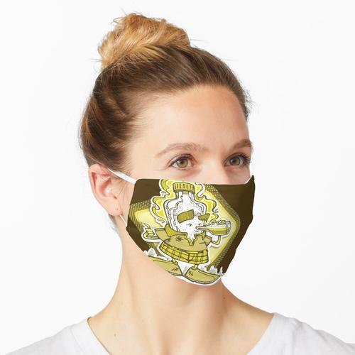 Herr Flasche Maske