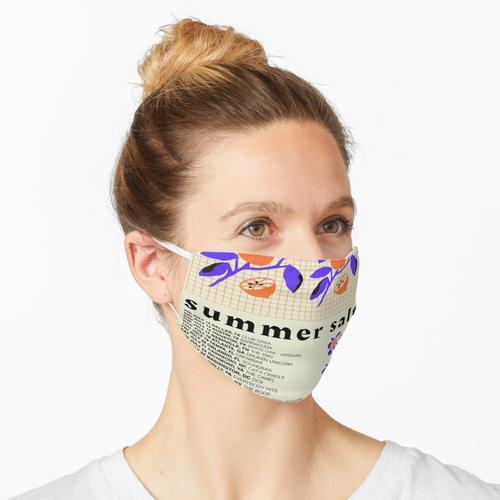 Sommersalz Maske