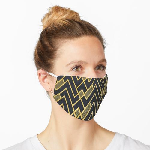 Gelbes Yin Maske