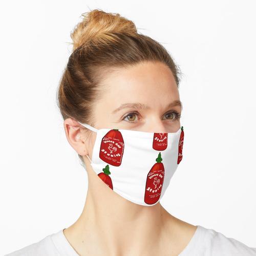 Sriracha Sauce Maske