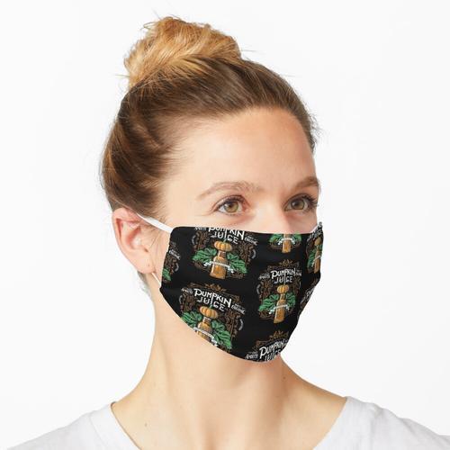 Der Saft des Kürbises Maske