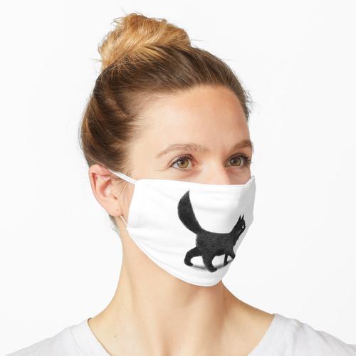Kriechende Katze Maske