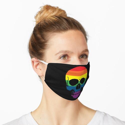 Gay Pride Regenbogenfahne Maske