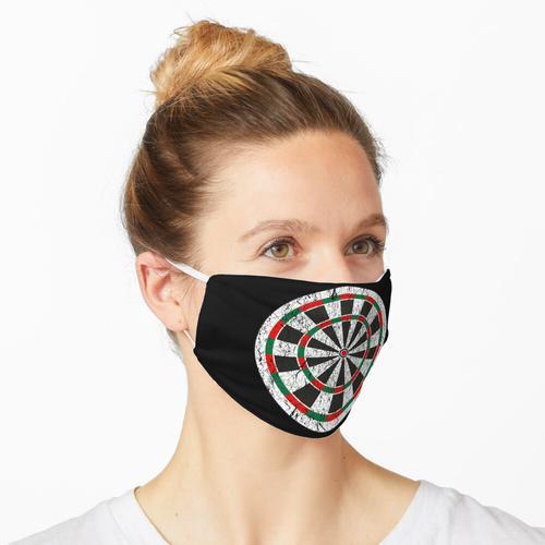 Darts Dartscheibe Maske
