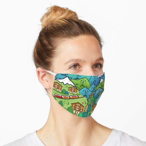 schweizerisch Maske