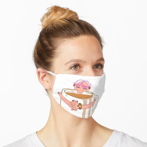 Kaffee umarmen Maske