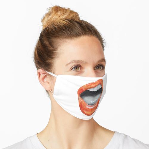Lipgloss Maske
