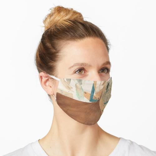 Ginkgo Blatt Maske