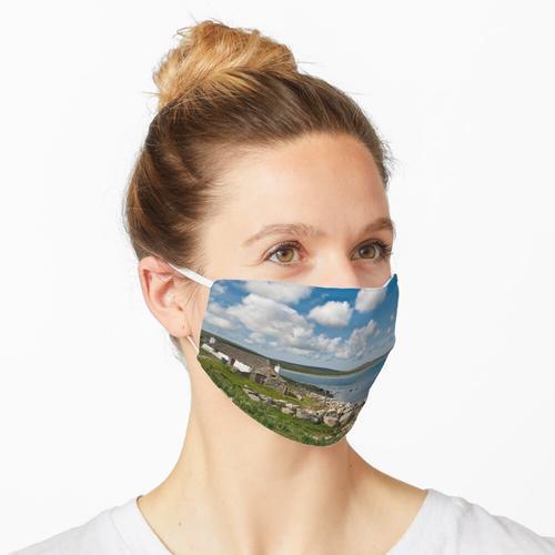 North Uist: Steinhaus Maske