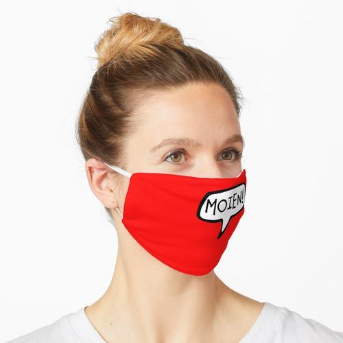 MOIEN! Luxemburgisch Gruß, Hallo, Hi, Luxemburg Maske
