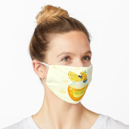 Goldenes Gift Zitronensorbet 2 Maske