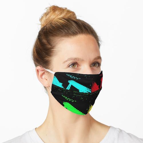 Phosphoreszierender Traum Maske