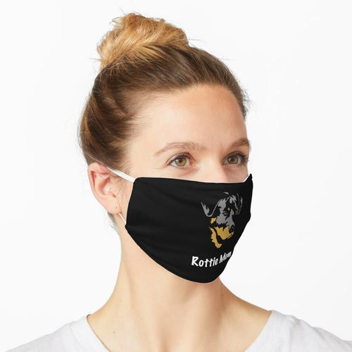 Rottweiler Mom - Rottweiler Geschenk - Rottweiler Shirt - Rottweiler Geschenk für Frauen Maske