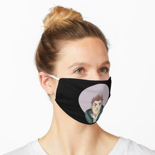 Virtueller Held Rubius Maske