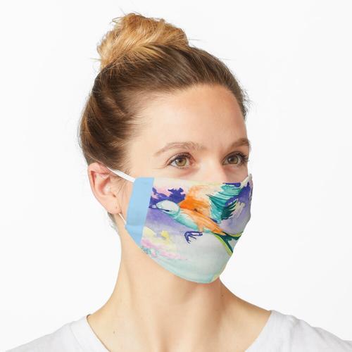 Scherenschnitt Maske