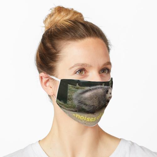 Geräusche der Panik Maske