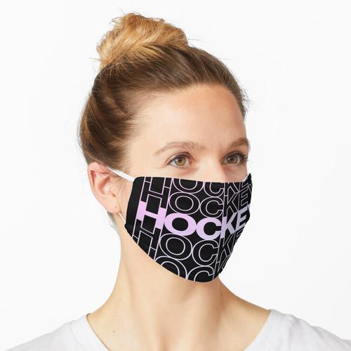 Eishockey. Eishockey. Eishockey. (Pastell) Maske