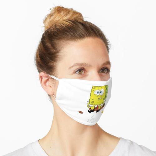 Chip, Penny und gebrauchte Serviette Maske