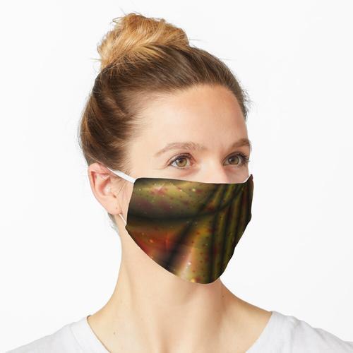 Zerknitterter Stoff 1 Maske