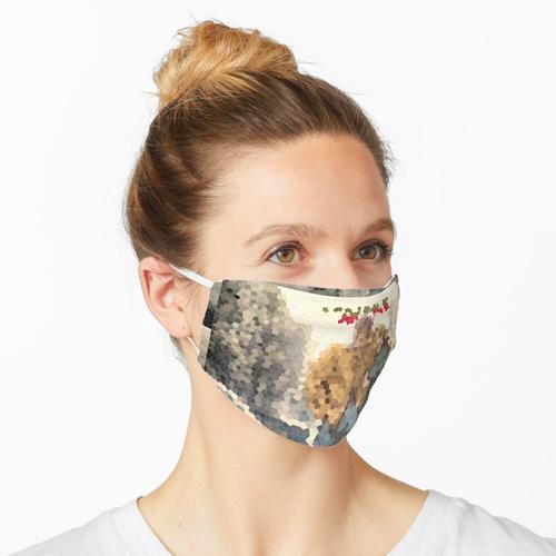 Das Freewheelin-Mosaik Maske