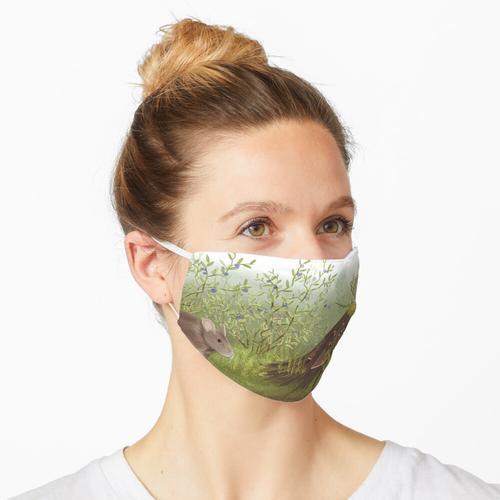Skandinavischer Wald Maske