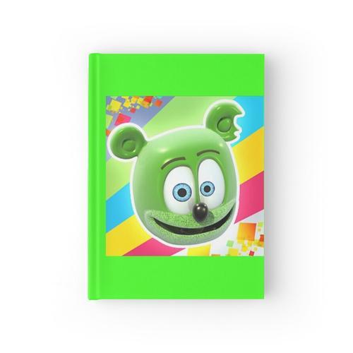Gummibar (der Gummibärchen) Notizbuch