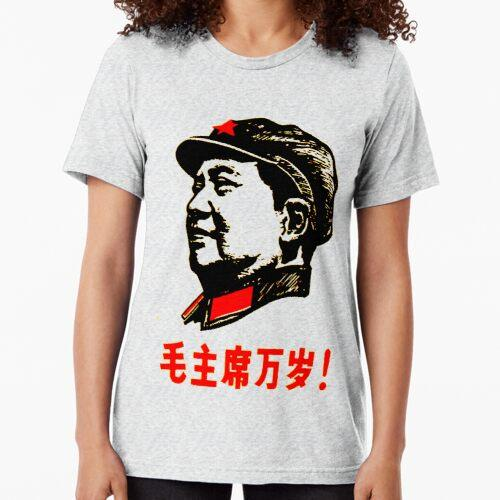CHAIRMAN MAO 6 Tri-blend T-Shirt