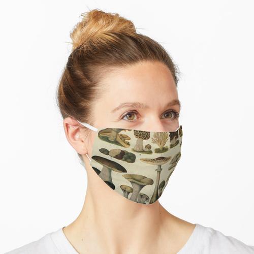 Essbare Pilze Maske
