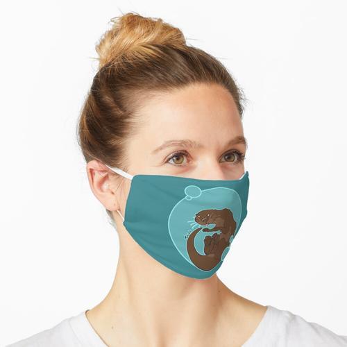 Sprudelnder Otter Maske