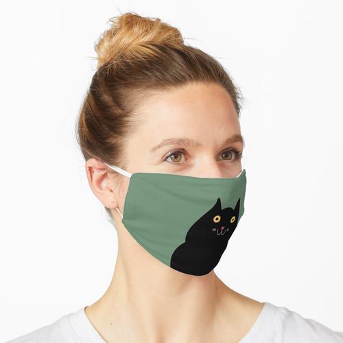 Black Cloud Cat Maske