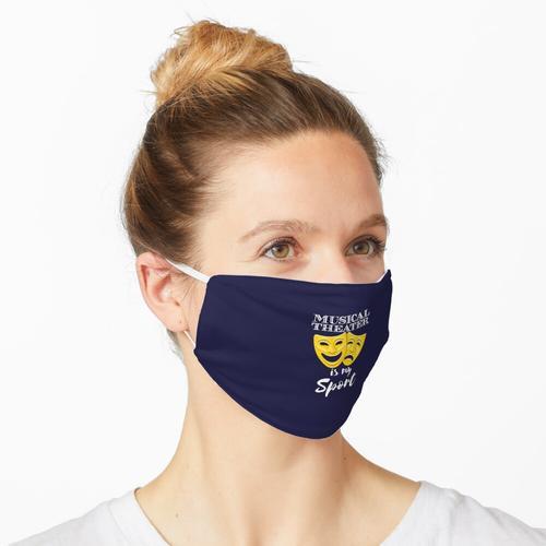 Musiktheater ist mein Sport Maske