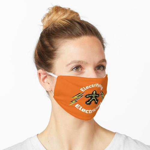 Elektrifizierender Elektriker - Lecy Shirt - Spitzenelektriker - Elektriker Dad - Elektriker B Maske